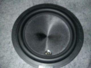 Massive Audio TW 12 12 Subwoofer 500 Watt RMS 1000 Watt Peak