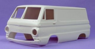 Jimmy Flintstone 67 Dodge A 100 Panel Van Body 24
