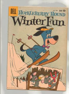 No 1054 HUCKLEBERRY HOUND WINTER FUN w YOGI BOO BOO PIXIE DIXIE JINKS