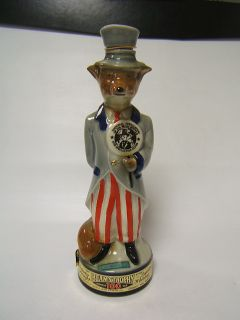 Jim Beam Bottle Club Series Uncle Sam Fox 1971