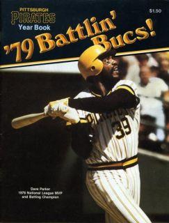 1979 Pittsburgh Pirates 79 Battlin Bucs  Yearbook Dave Parker