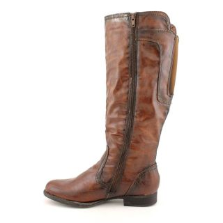 Used Baretraps Jezebel Womens Size 8 Brown Leather Fashion   Knee High