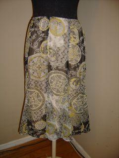 Joanna Paisley Flower Skirt New SM Coolstuff2cheap
