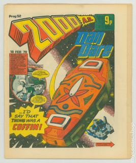 2000 Ad 1977 United Kingdom 52 VF 8 0