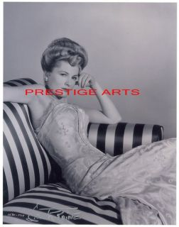 Joan Fontaine Autographed Reprint