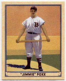 Jimmie Foxx 2003 Upper Deck Play Ball 1941 Reprints