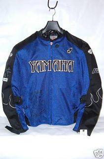 LG Flame Mesh Joe Rocket Blue Black Jacket