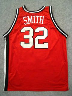 Authentic Maryland Terrapins Joe Smith Jersey Red L Apex Terps 1994 95