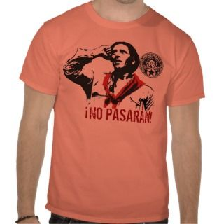 NO PASARÁN T SHIRT