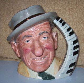 Royal Doulton JIMMY DURANTE lovable piano player singer comic actor