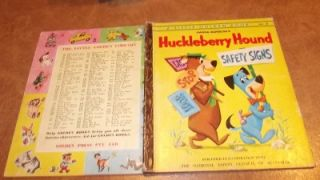 Huckleberry Hound Safety Signs 252 30 Yogi Pixie Dixie Jinks