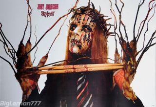 Joey Jordison Slipknot Nine Lives Music Poster 24x35