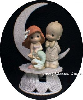 Little Mermaid Precious Moments Figure Wedding Cake Topper