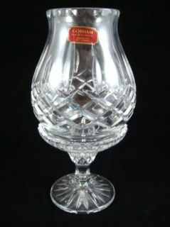 Gorham King Edward Lead Crystal Hurricane Lamp