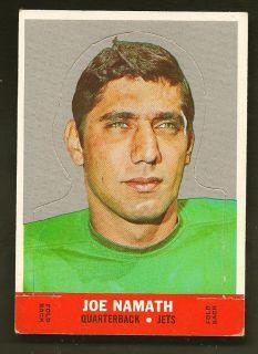 Joe Namath New York Jets 1968 Topps Stand UPS