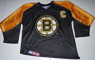 VINTAGE CCM JOE THORNTON BOSTON BRUINS NHL YOUTH HOCKEY JERSEY YOUTH L
