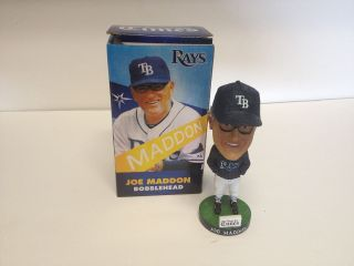 Tampa Bay Rays Joe Maddon bobble Head SGA figure bobbin tampa bay