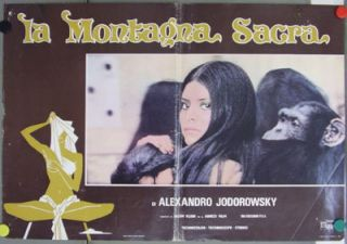 DI42 The Holy Mountain Jodorowsky RARE Orig Poster It A