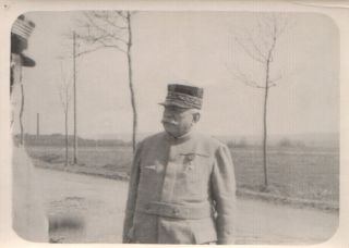 WWI WW1 General Joseph Joffre French Military Old Photo