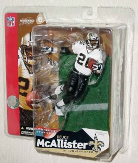 McFarlane Football NFL Series 6 Complete Set of 8 Alexander Alstott