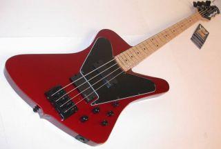 Dean John Entwistle Hybrid Bass Metallic Red EMG Pickups Je Hybrid MRD