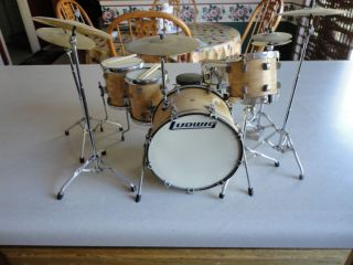 John Bonham Ludwig Maple Drums Replica Kit LED Zeppelin