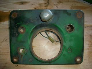 John Deere 630 Dash Instrument Panel