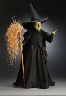 John Wright Collectible Dolls Wicked Witch of The West from The