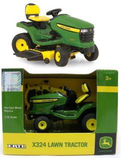 2012 Ertl 1 16 John Deere X324 Lawn Garden Tractor Mower NIB