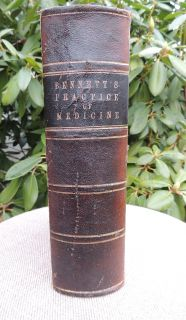 1863 Old Civil War Medical Book Manual Medicine Surgery Surgeon