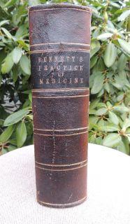 1863 Old Civil War Medical Book Manual Medicine Surgery Surgeon