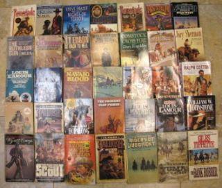Paperback Books Ralph Compton Louis LAmour William Johnstone