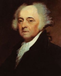 John Adams Portrait ★top Handpaint Oil Painting Work on Canvas 24