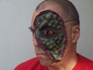 Visitor Lizard Replica Skin Face John Donovan Custome
