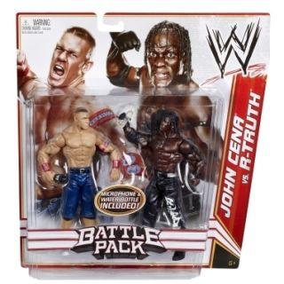 John Cena vs R Truth WWE 2 Packs Mattel Toy Wrestling Action Figures
