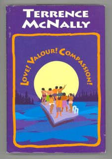 Love Valour Compassion by Terrence McNally Hardcover Broadway Play