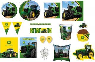 John Deere Tractor Farm Birthday Party Baby Shower Retirement Farmer