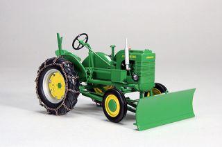 John Deere La Snowblade Chains Farm Toy Tractor JDM 229