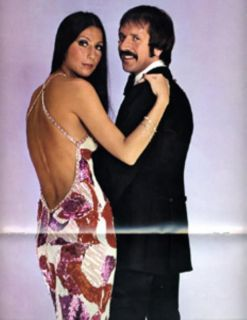 Sonny Cher 1972 1973 Tour Concert Program Book