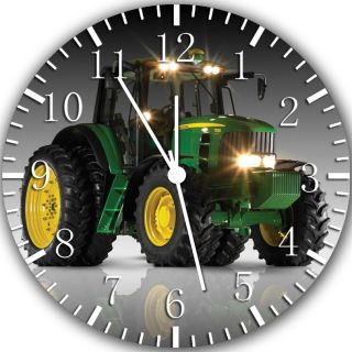 New John Deere farm tractors wall Clock 10 Room Decor Y80 Fast shipping
