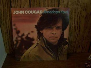 John Cougar Mellencamp American Fool LP 1982 VG