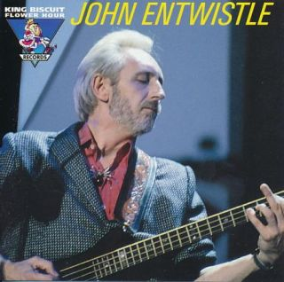 John Entwistle of Who CD King Biscuit Flower Hour Radio Show KBFH Classic Rock