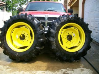 New John Deere 870 Tractor Tires and Rims