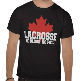 Canada Lacrosse Canadian Tshirts from Zazzle