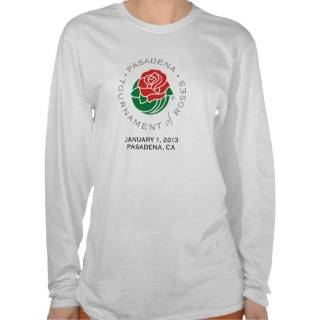 Pasadena Tournament of Roses Tee Shirts from zle