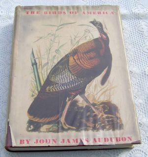 Birds of America John James Audubon HCDJ 1941 Great condition