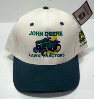 John Deere Vintage Lawn Mower Garden Tractor Hat Cap New Adjustable Trucker