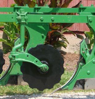"New 17"" Moldboard Plow Coulter Blade Fits John Deere 44 55 66 F145 412 555 810"