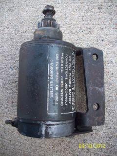 John Deere Kohler 12 hp starter