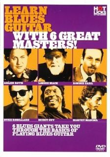 LEARN BLUES GUITAR WITH 6 GREAT MASTERS HOT LICKS DVD HOT701 LEARN PLAY TUTORIAL